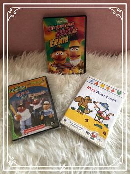 Dvd's van Muis Sesamstraat en Bert en Ernie