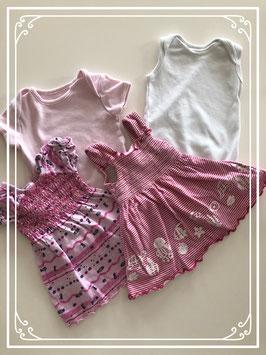 Newborn jurkjes set - Maat 62
