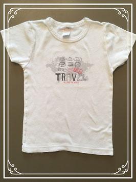 Wit onderhemdje van Absorba - maat 110-116