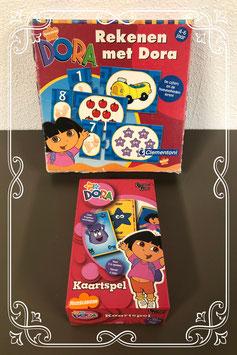 Kaartspel en rekenen met Dora