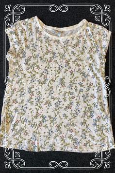 Netjes gebloemd shirt van Clockhouse maat M