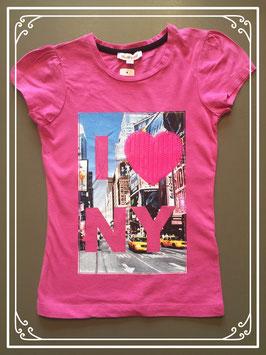 Een prachtig T-shirtje van het merk Bluezoo - maat 110