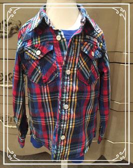 Tweedelig setje van bloes en shirt - maat 86-92