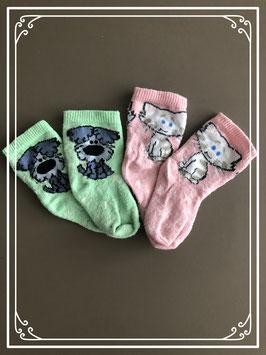 Kleurrijke Woezel en Pip sokjes