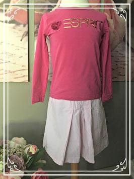 Roze setje van Esprit - maat 104-110