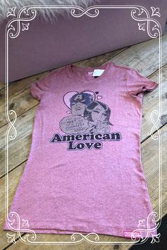 Roze T-shirt van Tommy Hilfiger - Maat 176