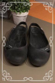 Zwarte instappers van Crocs maat 39,5