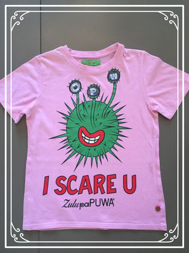 Zulupapuwe roze T-shirt - maat 146-152