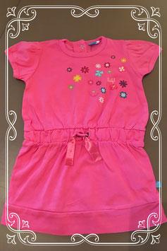 Leuk roze zomers jurkje met bloemetjes van lief - maatje 86