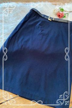 Donkerblauwe rok van het merk Barucci - maat 46