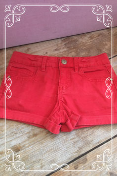 Rode short van Frendz - Maat 116
