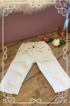 Witte jeans short van H&M-maat 134