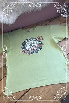 Groen t-shirt van het merk River Woods - maat 14 (164)