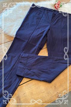 Donkerblauwe stretchbroek van het merk Robell - maat 50