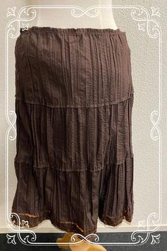 Nieuw! Feestelijk bruine rok van Yessica maat 40