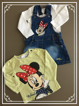Disney jurkje met shirtjes om af te wisselen - Maat 68