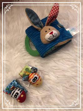 LIEF! konijn boekje met Jollybaby knuffeltjes
