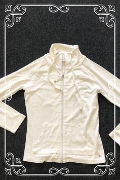 Wit vest met kraag van Street One maat XS/S