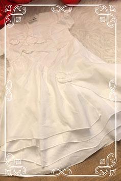 Wit jurkje met bloemen van Saltydog - maat 92