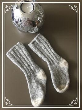 Grijse winter sokken - Maat 24-25