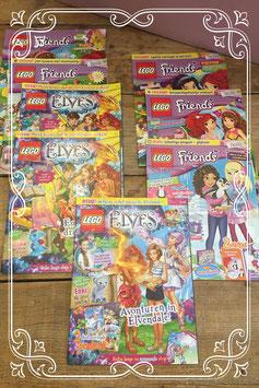 Set van 8 Lego boekjes