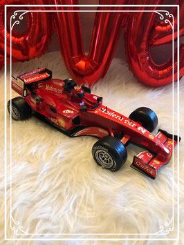 Rode race auto 35 cm lang met coureur