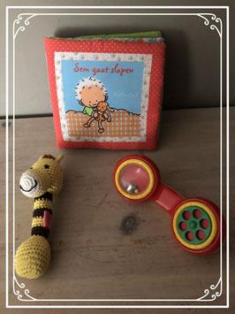 Kleurrijk speelgoedsetje