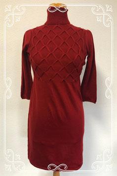 Nieuw! Bordeaux rode jurk van AGB dress maat 40