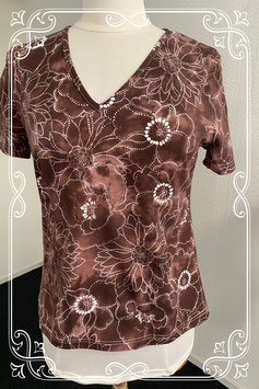 Sierlijk bruin shirt van Essentials maat 40