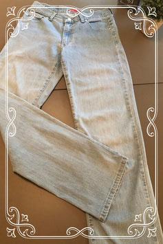 Licht blauwe spijkerbroek van Angels maat 38