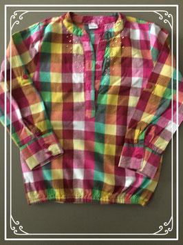 KLeurrijke blouse met gouden steentjes merk Zeeman - maat 98-104