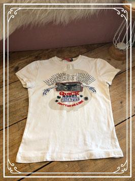 Wit t-shirt van het merk Molto Buffo - maat 140