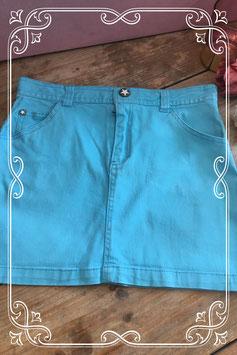 Lichtblauwe rok - Maat 158
