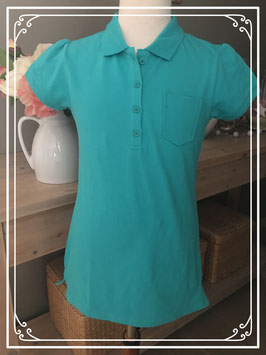 Nieuw: Turquoise Polo van HEMA - maat 158-164