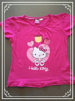 Roze T-shirt van Hello Kitty - maat 134-140