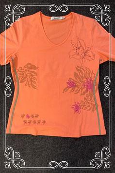 Nieuw! Zalmkleurig shirt van Tauri maat 38