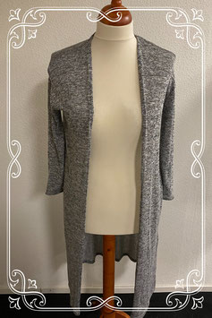 Nieuw! Lang grijs vest van H&M maat XS