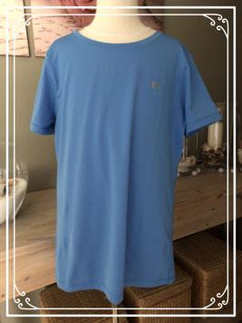 Blauw sportshirt-maat S-M