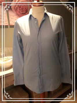 Lichtblauwe Slim blouse van HUGO BOSS - Maat L