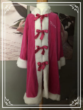 Roze prinsessen badjas - Maat 110-116