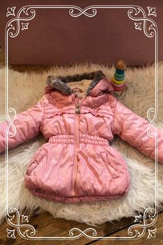 Super leuk roze winter jasje - maat 74