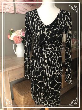 Zwart-wit jurkje van Bellisima-maat S
