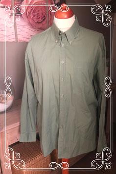 Effen groene blouse van Stockholm Classic maat L (41-42)