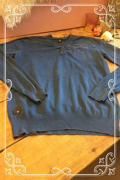 Donkerblauwe trui van Capsize - Maat L
