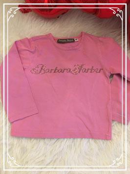 Roze longsleeve merk Barbara Farber - maat 92