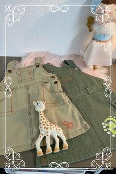2 stoere jurkjes van Friendz en Baby Little Me in 1 pakket maat 80