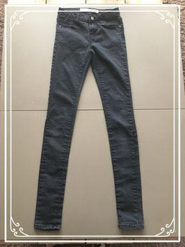 Zwarte stretch broek van Denim Co - Maat 34