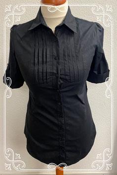 Zwarte blouse met korte mouwen van Atmosphere maat 42