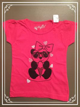 Roze T-shirt van het merk Girl2Girl - maat 98