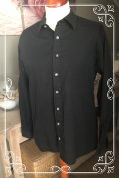Gave zwarte blouse van C&A maat L (41-42)